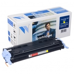 Картридж NV Print для Canon LBP5000 Желтый (Cartridge707Y)