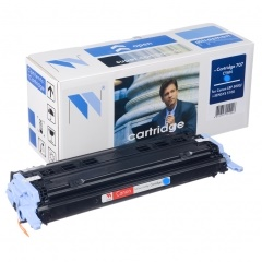 Картридж NV Print для Canon LBP5000 Голубой (Cartridge707C)